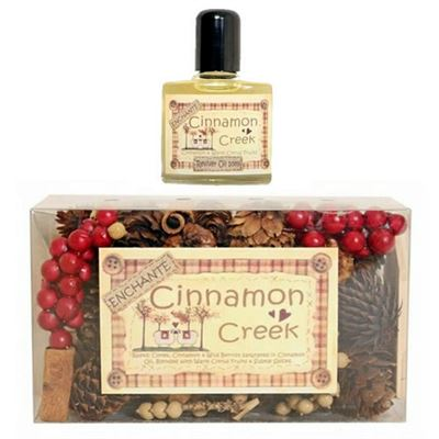 Cinnamon Creek Cone Box with 10ml Oil