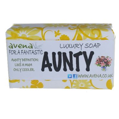 Gift Soap for Aunty 200g Quality Soap Bar