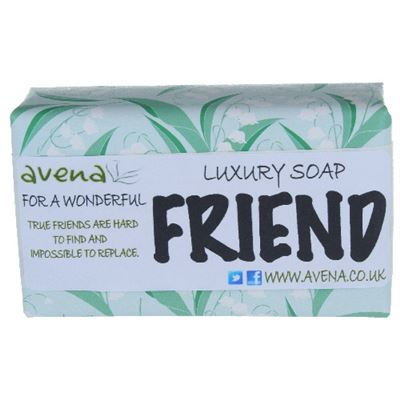 Gift Soap for a Friend 200g Quality Soap Bar