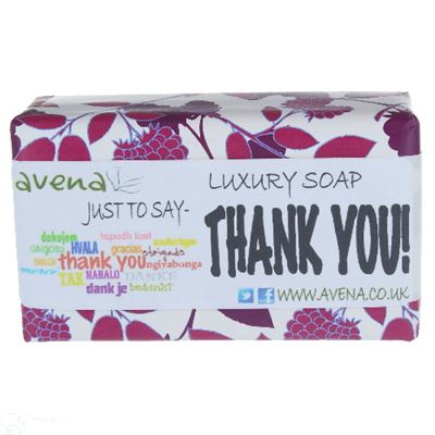 Gift Soap Thank You 200g Quality Soap Bar
