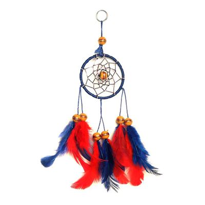 Blue & Red Dream Catcher Small