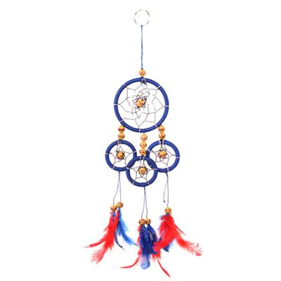 Blue & Red Dream Catcher Medium