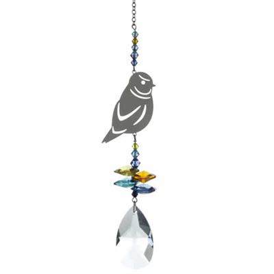 Blue Tit Crystal Fantasy Rainbow Maker 24cm