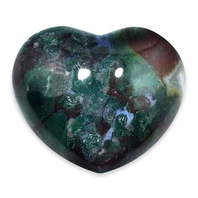 Bloodstone Heart Large