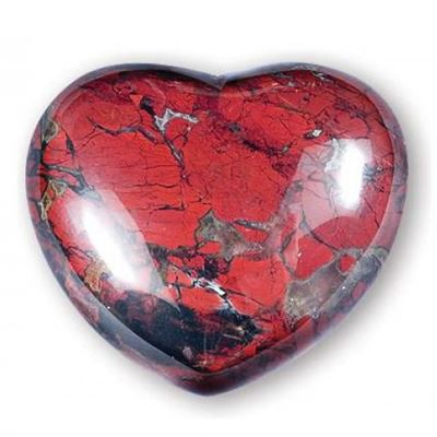 Poppy Jasper Heart Large