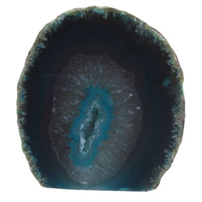 Green Agate Geode Medium