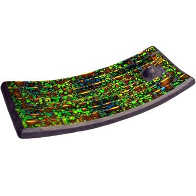 Moss & Water Mosaic Incense Holder
