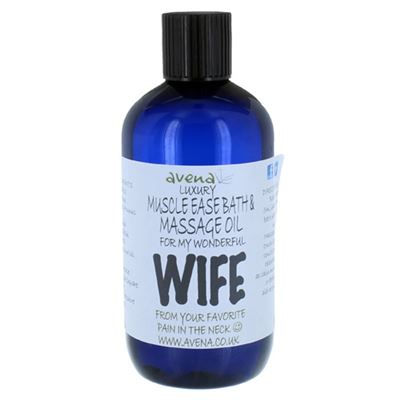 Wife's Gift Massage & Bath Oil 250ml