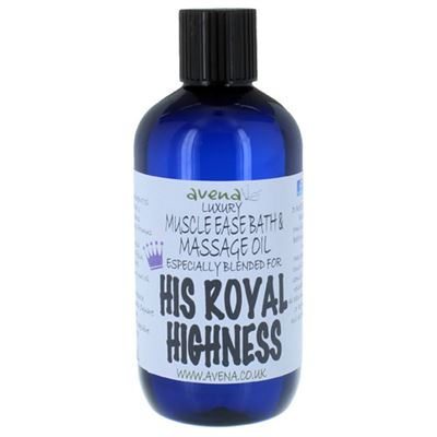 His Royal Highness Gift Massage & Bath Oil 250ml