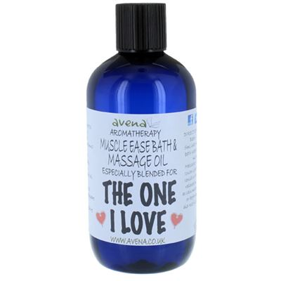 The One I Love Gift Massage & Bath Oil 250ml