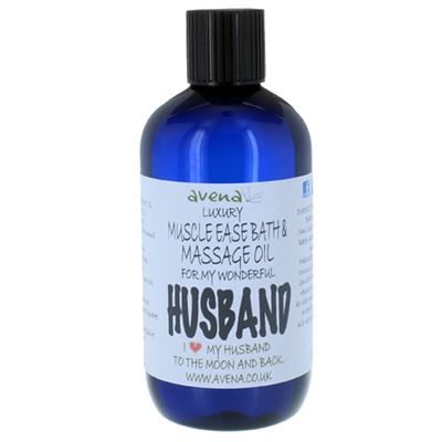 Husband's Gift Massage & Bath Oil 250ml
