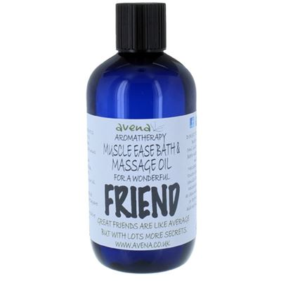 Friend's Gift Massage & Bath Oil 250ml