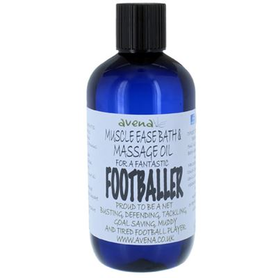 Muscle Ease Bath & Massage Oil for a Footballer 250ml