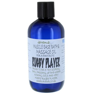 Muscle Ease Bath & Massage Oil for a Rugby Player 250ml