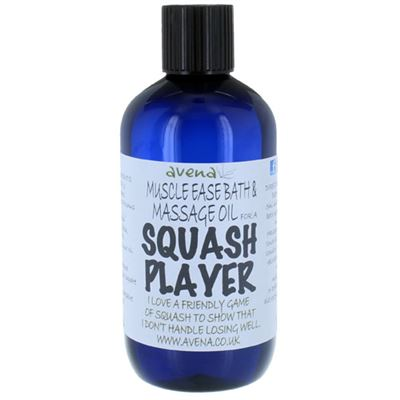 Muscle Ease Bath & Massage Oil for a Squash Player 250ml