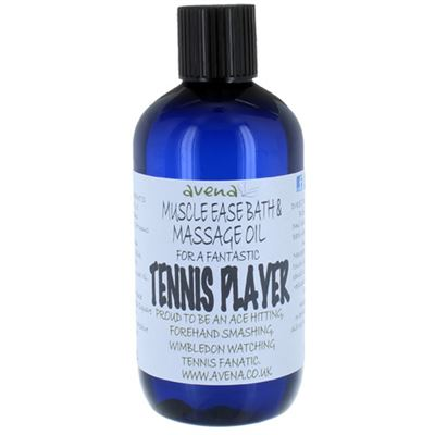 Muscle Ease Bath & Massage Oil for a Tennis Player 250ml
