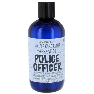 Muscle Ease Bath & Massage Oil for a Police Officer 250ml
