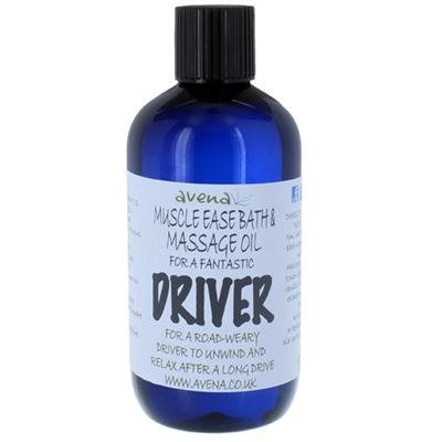 Muscle Ease Bath & Massage Oil for a Driver 250ml