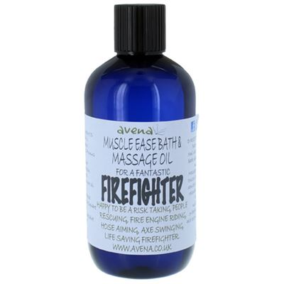 Muscle Ease Bath & Massage Oil for a Firefighter 250ml