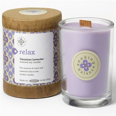Relax Seeking Balance Candle in a Jar Large