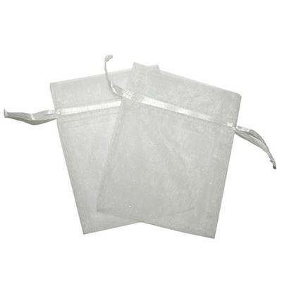White Organza Bag Two Pack