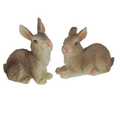 Daisy & Delilah Rabbits Set of Two