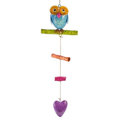 Colourful Owl Mobile Professor