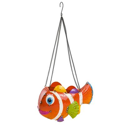 Clown Fish Hanging Planter Extra Large