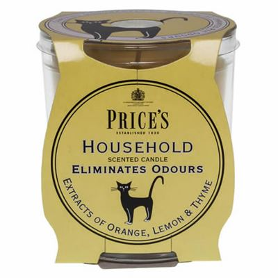 Household Candle in Glass Jar by Price's