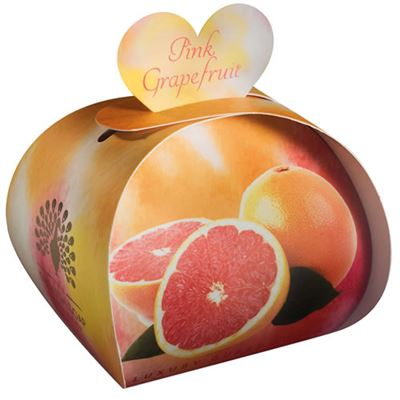 Pink Grapefruit Guest Soaps in Gift Box 60g