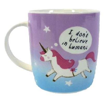 Unicorn Mug Pink & Blue