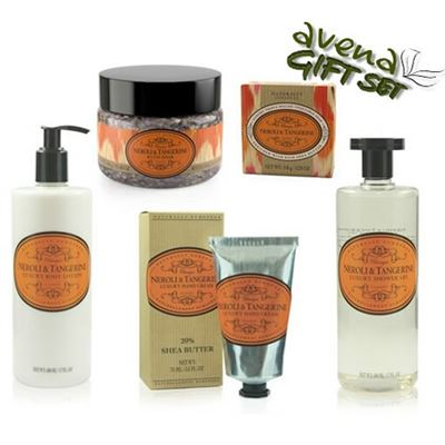 Five Piece Luxury Gift Box Neroli & Tangerine