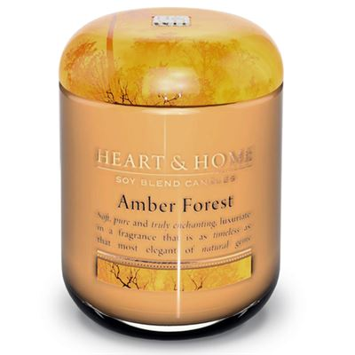 Amber Forest Candle in Jar 30 hours