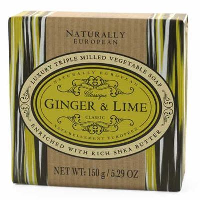 Ginger & Lime Naturally European Soap 150g