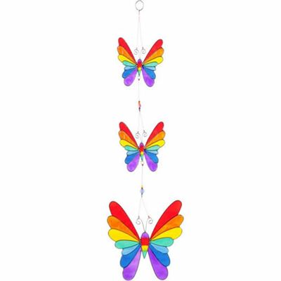 Butterfly Suncatchers Colourful Set of Three