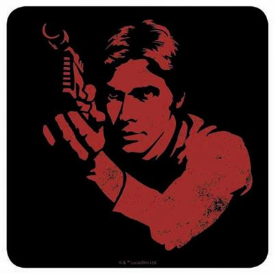 Han Solo Official Star Wars Coaster