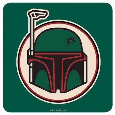 Boba Fett Official Star Wars Coaster