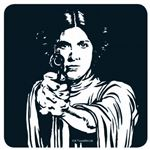 Leia Official Star Wars Coaster