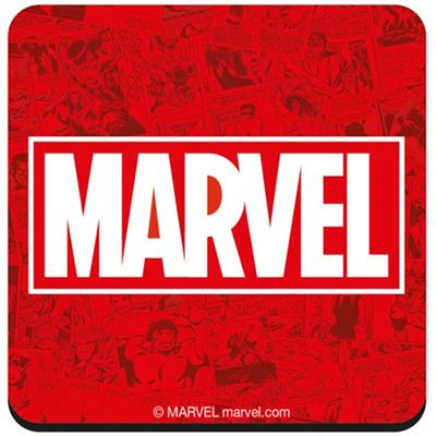 Official Marvel Logo Coaster