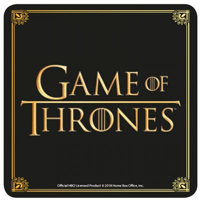Game Of Thrones Official Logo Coaster