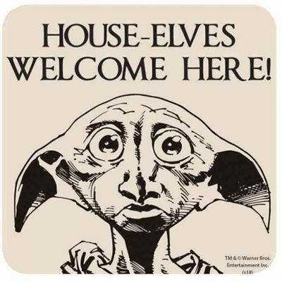 House Elves Official Harry Potter Coaster