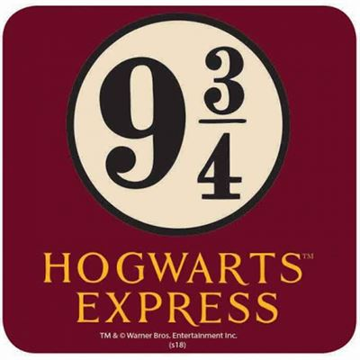 Platform 9 ¾ Official Harry Potter Coaster