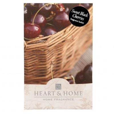 Sweet Black Cherries Fragranced Sachet