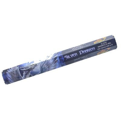 Silver Dragon Incense Sticks by Anne Stokes 20s Box