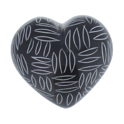 Black & White Mercury Heart Design A