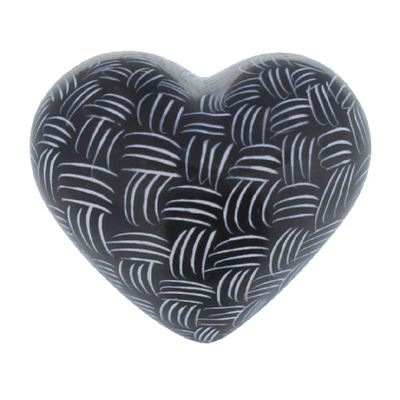 Black & White Mercury Heart Design B