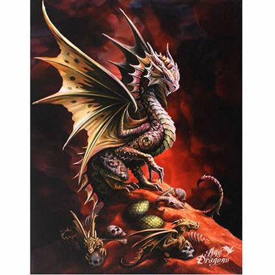 Desert Dragon Canvas Picture by Anne Stokes