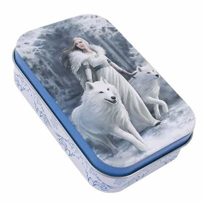 Winter Guardian Metal Tin