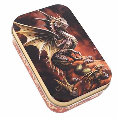 Desert Dragon Metal Tin