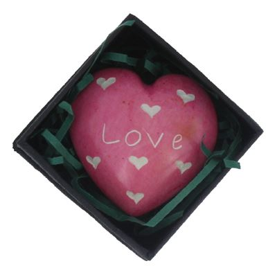 Love Heart in Gift Box Fair Trade
